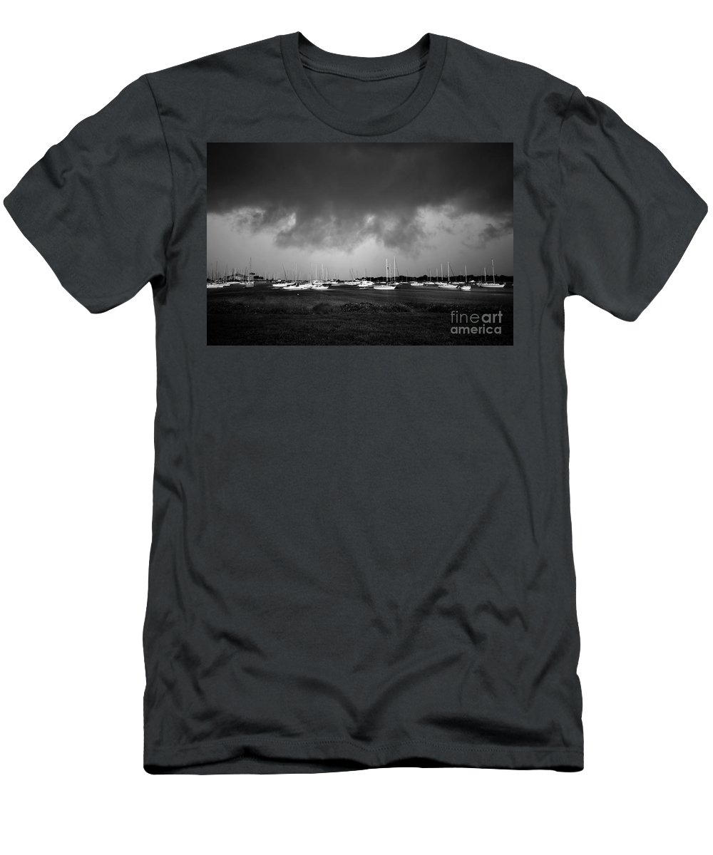 Storm Men's T-Shirt (Athletic Fit) featuring the photograph Storm Warning by David Lee Thompson