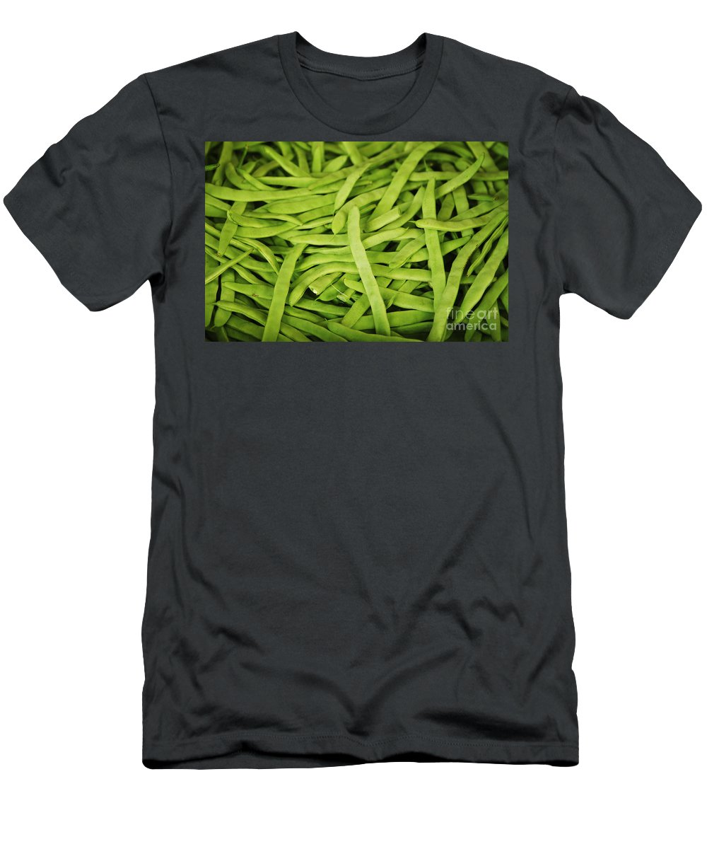 Asian Men's T-Shirt (Athletic Fit) featuring the photograph String Bean Heaven by Brandon Tabiolo - Printscapes
