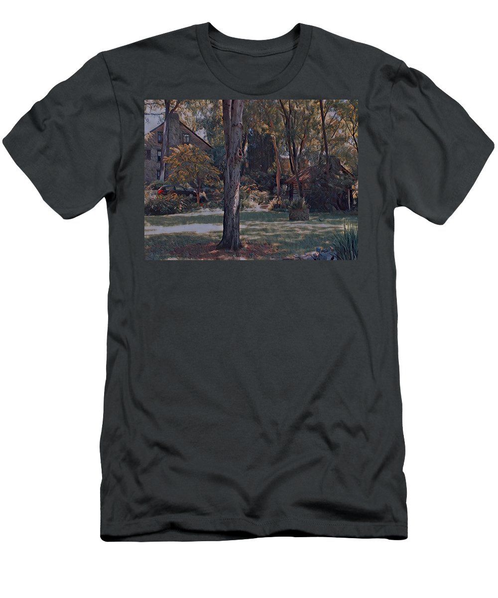 Stone Men's T-Shirt (Athletic Fit) featuring the photograph Summertime by Michael Tims