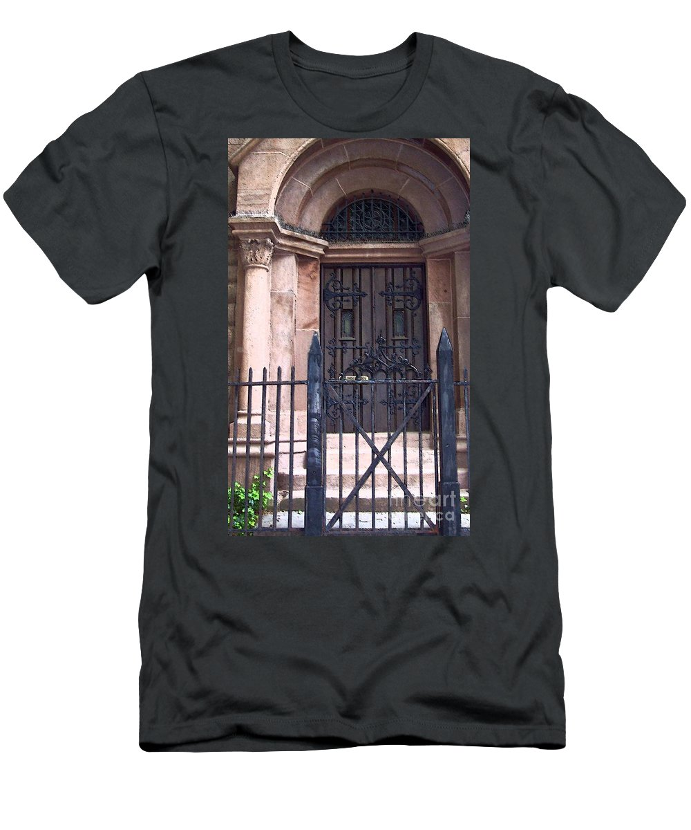 Church Men's T-Shirt (Athletic Fit) featuring the photograph Sunday by Debbi Granruth