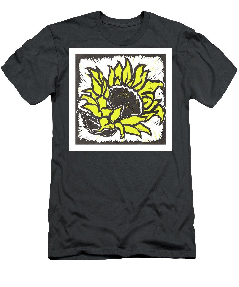 Sunflower T-Shirt featuring the digital art Sunflower by Matt Hood