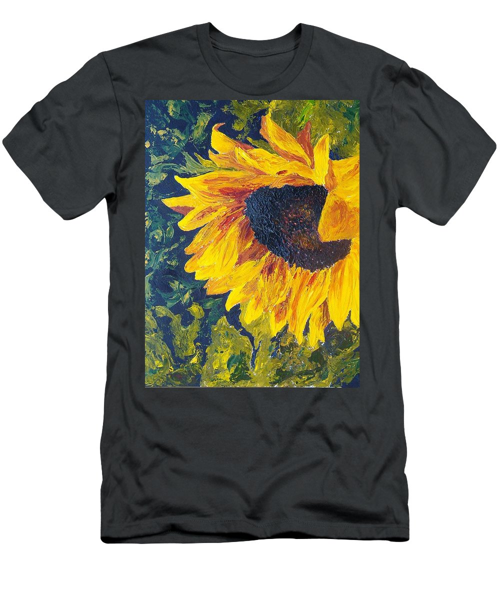 T-Shirt featuring the painting Sunflower by Tami Booher