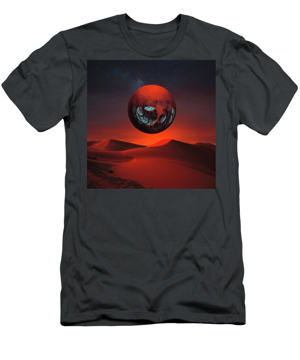 Landscape T-Shirt featuring the photograph Sunrise In the Third System by Michal Karcz