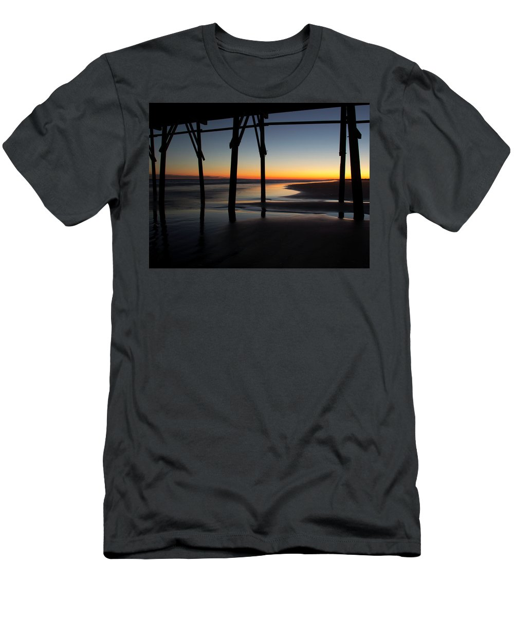 North Carolina Men's T-Shirt (Athletic Fit) featuring the photograph Sunset Afterglow by Gary W Baird