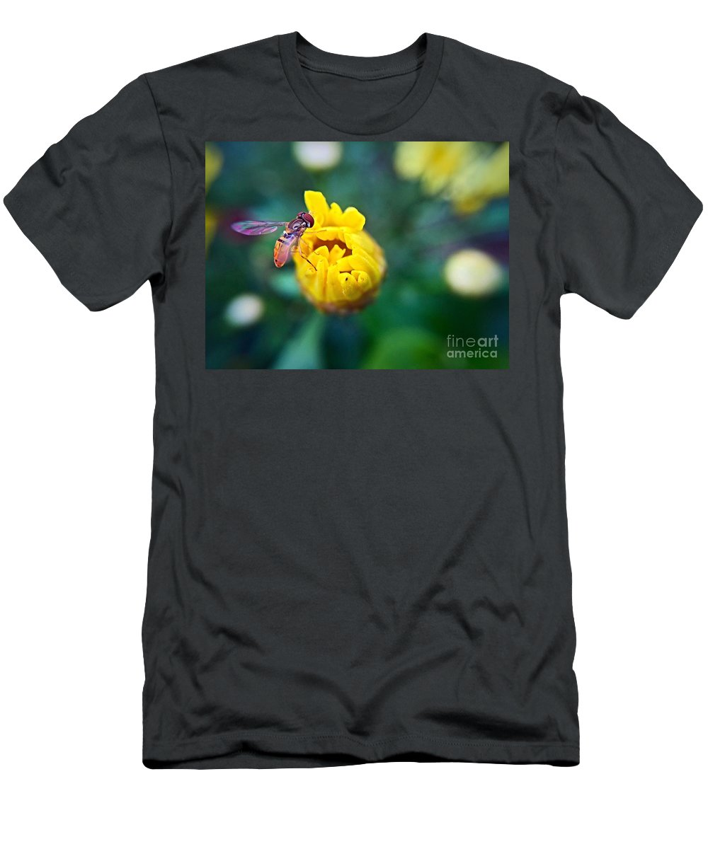 Ume Men's T-Shirt (Athletic Fit) featuring the photograph Sweet Bee by Bri Lou