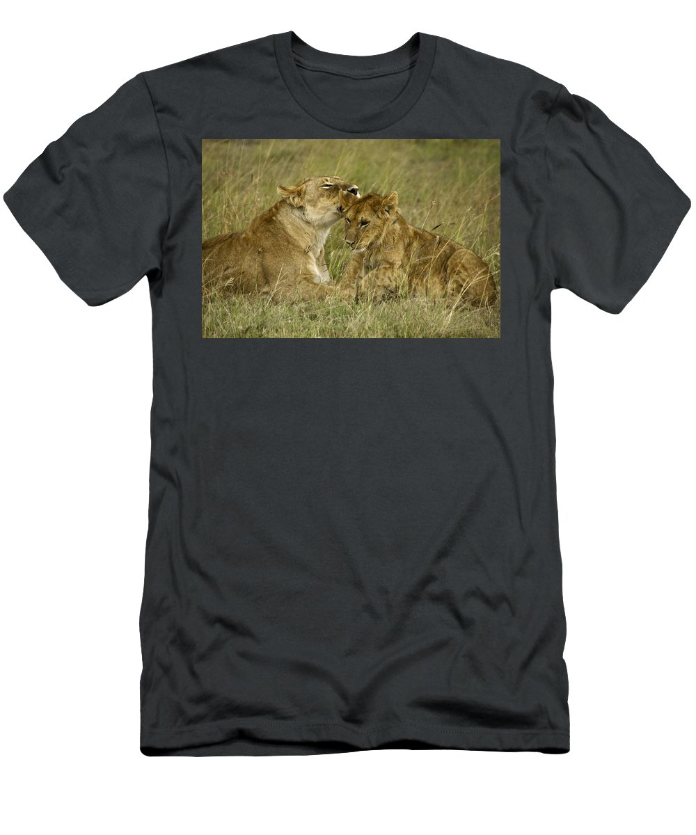 Africa Men's T-Shirt (Athletic Fit) featuring the photograph Sweet Thing by Michele Burgess