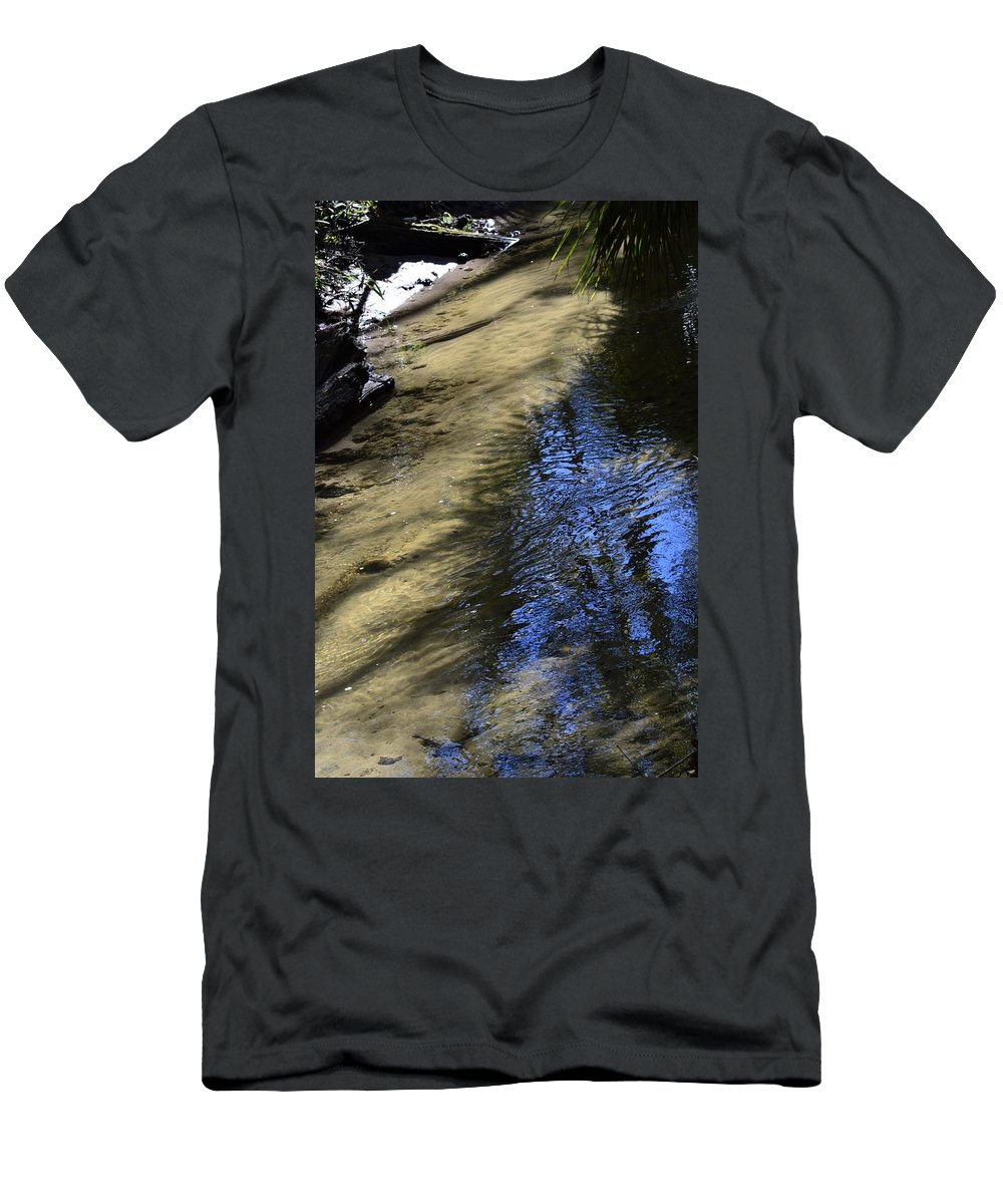 Sweetwater Creek Men's T-Shirt (Athletic Fit) featuring the photograph Sweetwater Creek by Warren Thompson