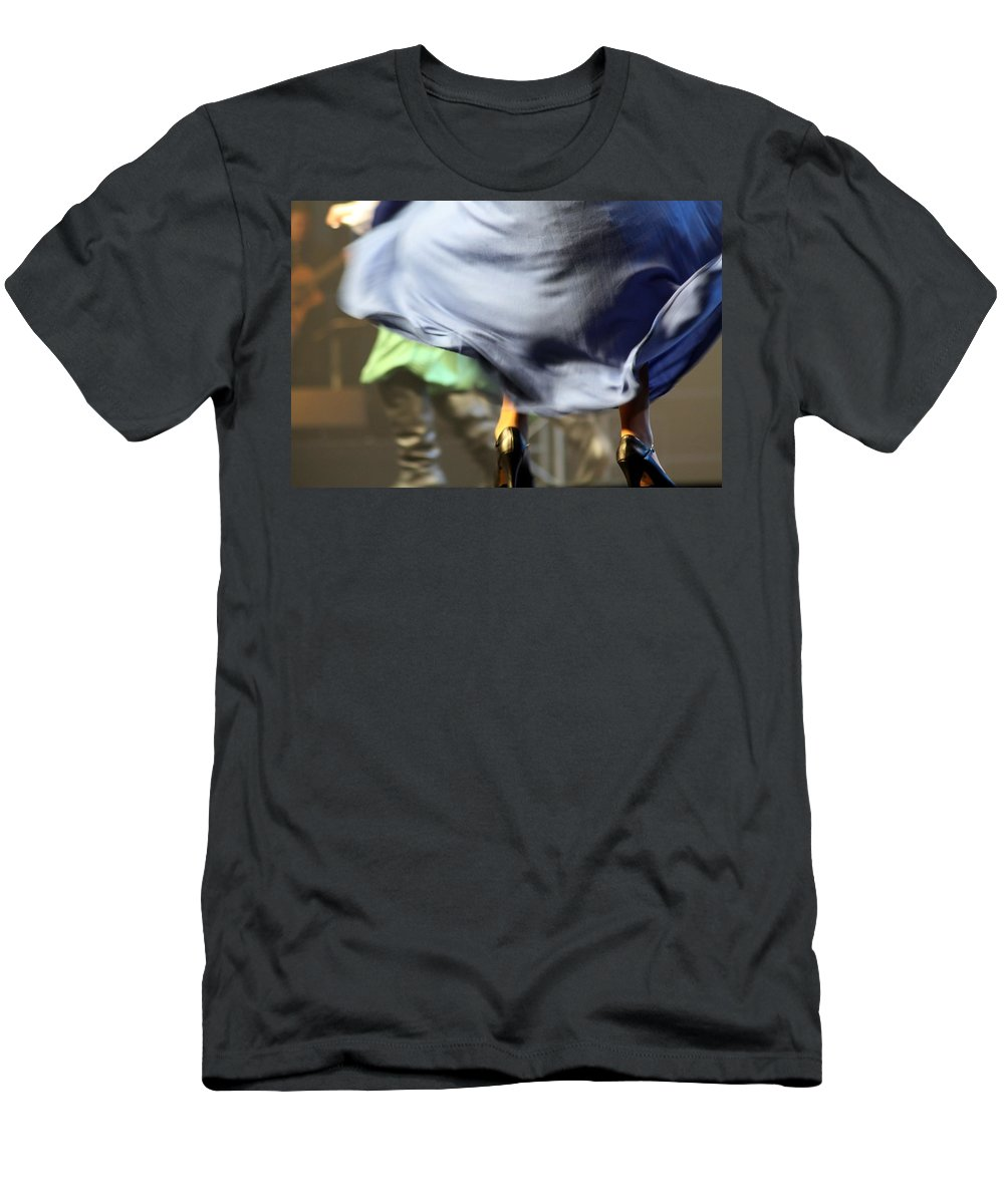 Skirt Men's T-Shirt (Athletic Fit) featuring the photograph Swishhhhhhhhh by Jo Hoden