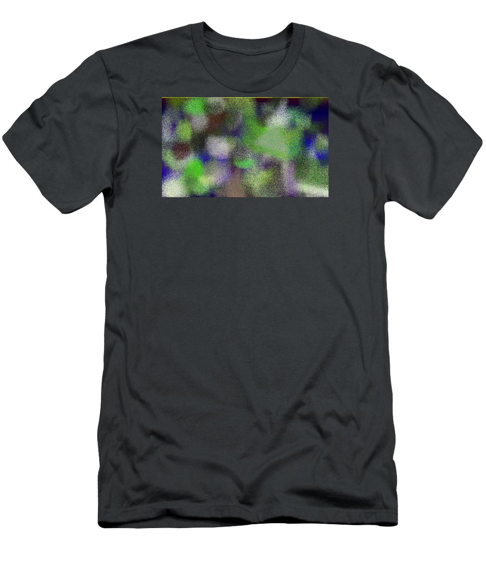 Abstract Men's T-Shirt (Athletic Fit) featuring the digital art T.1.1099.69.5x3.5120x3072 by Gareth Lewis