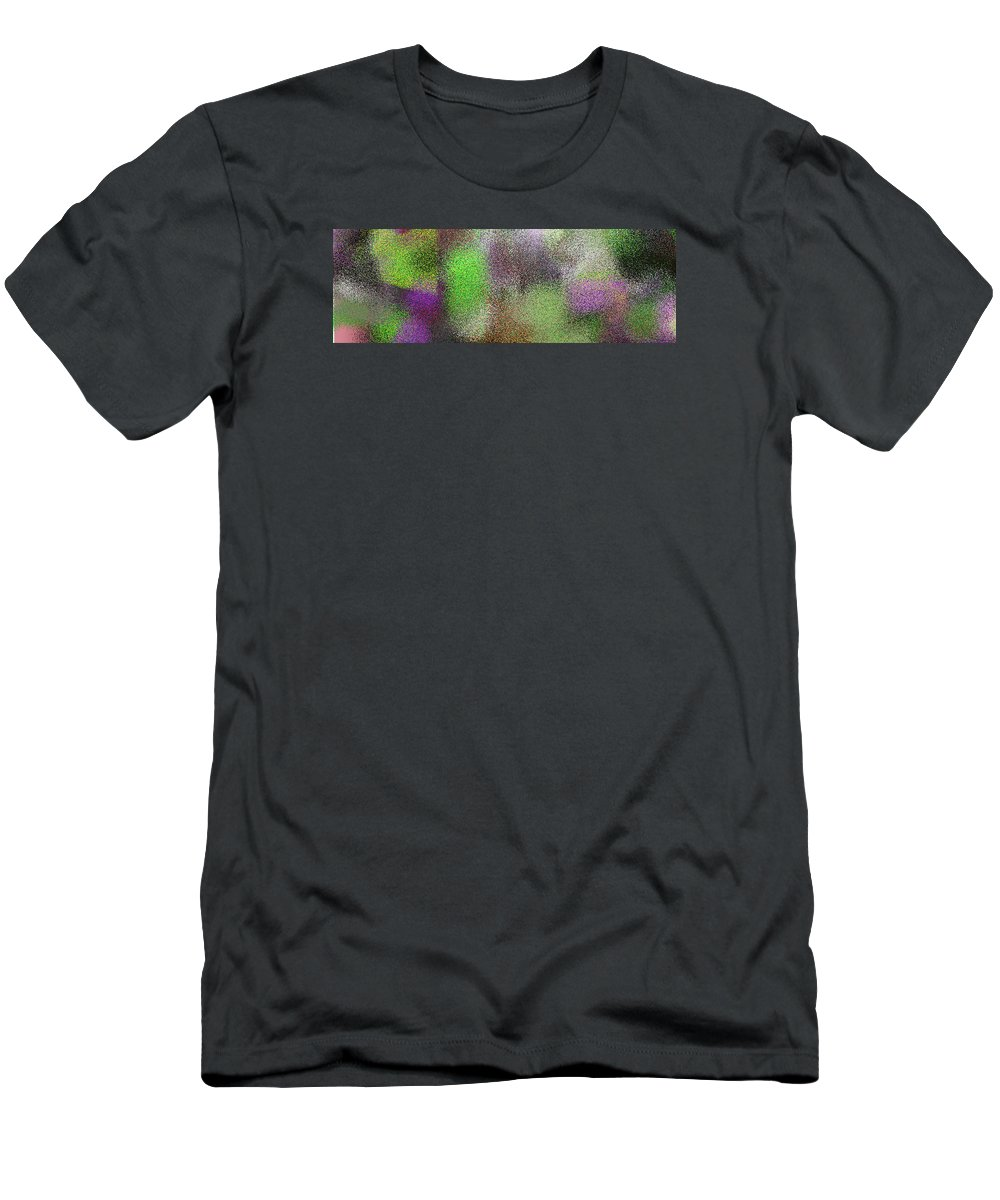 Abstract Men's T-Shirt (Athletic Fit) featuring the digital art T.1.1109.70.3x1.5120x1706 by Gareth Lewis