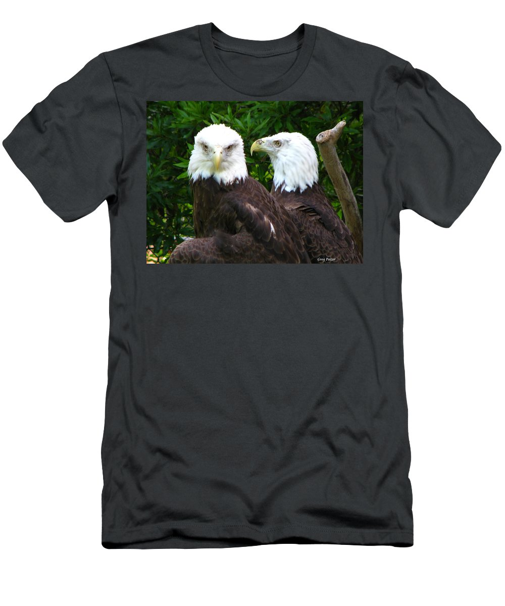 Men's T-Shirt (Athletic Fit) featuring the photograph Talking To Me by Greg Patzer