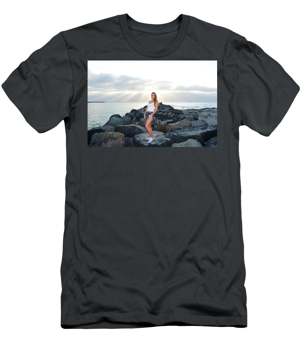 Fashion Men's T-Shirt (Athletic Fit) featuring the photograph Taylor 020 by Remegio Dalisay