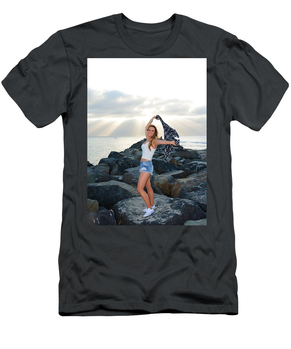 Fashion Men's T-Shirt (Athletic Fit) featuring the photograph Taylor 021 by Remegio Dalisay