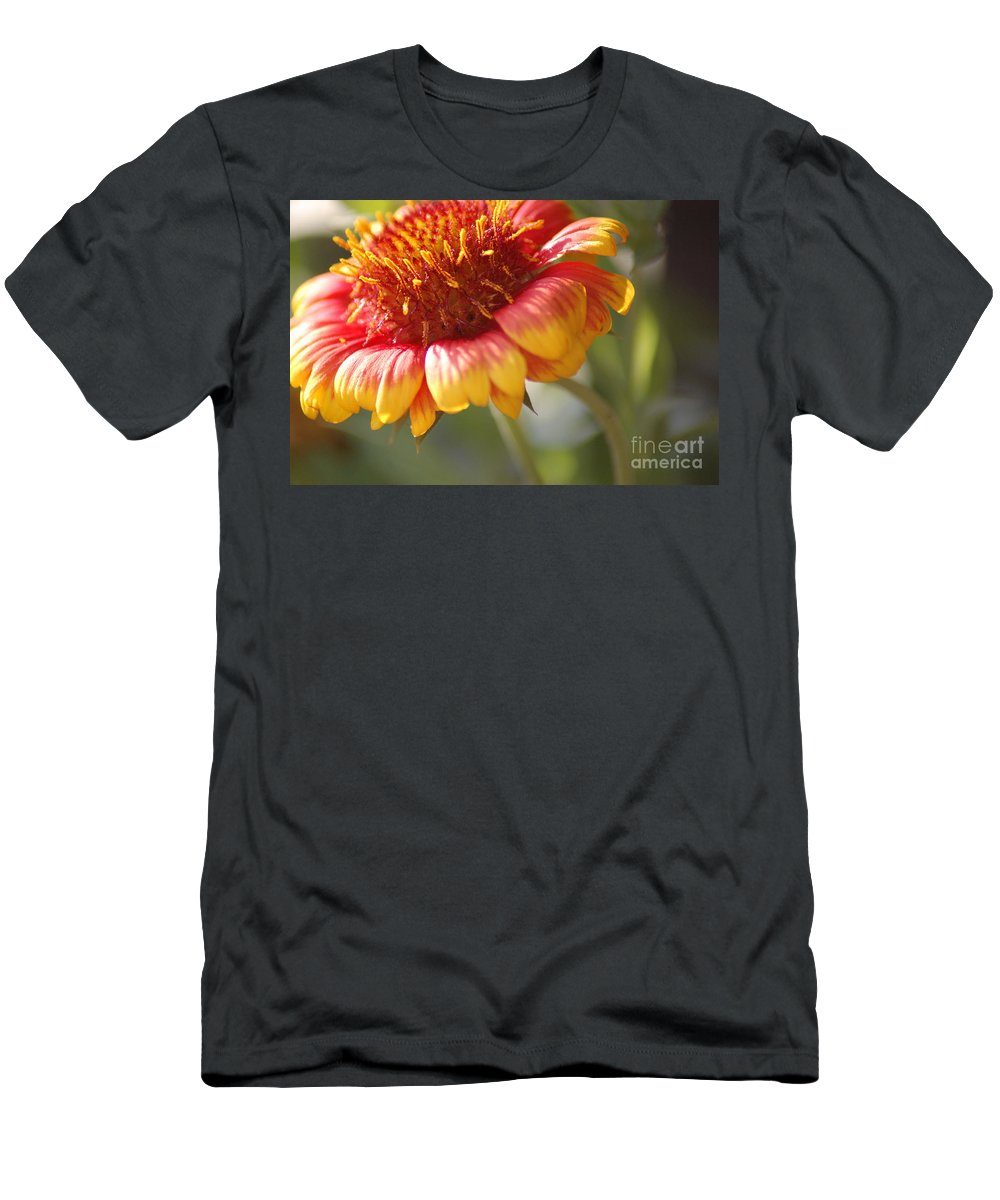 Flower Men's T-Shirt (Athletic Fit) featuring the photograph The Beauty by Donna Bentley