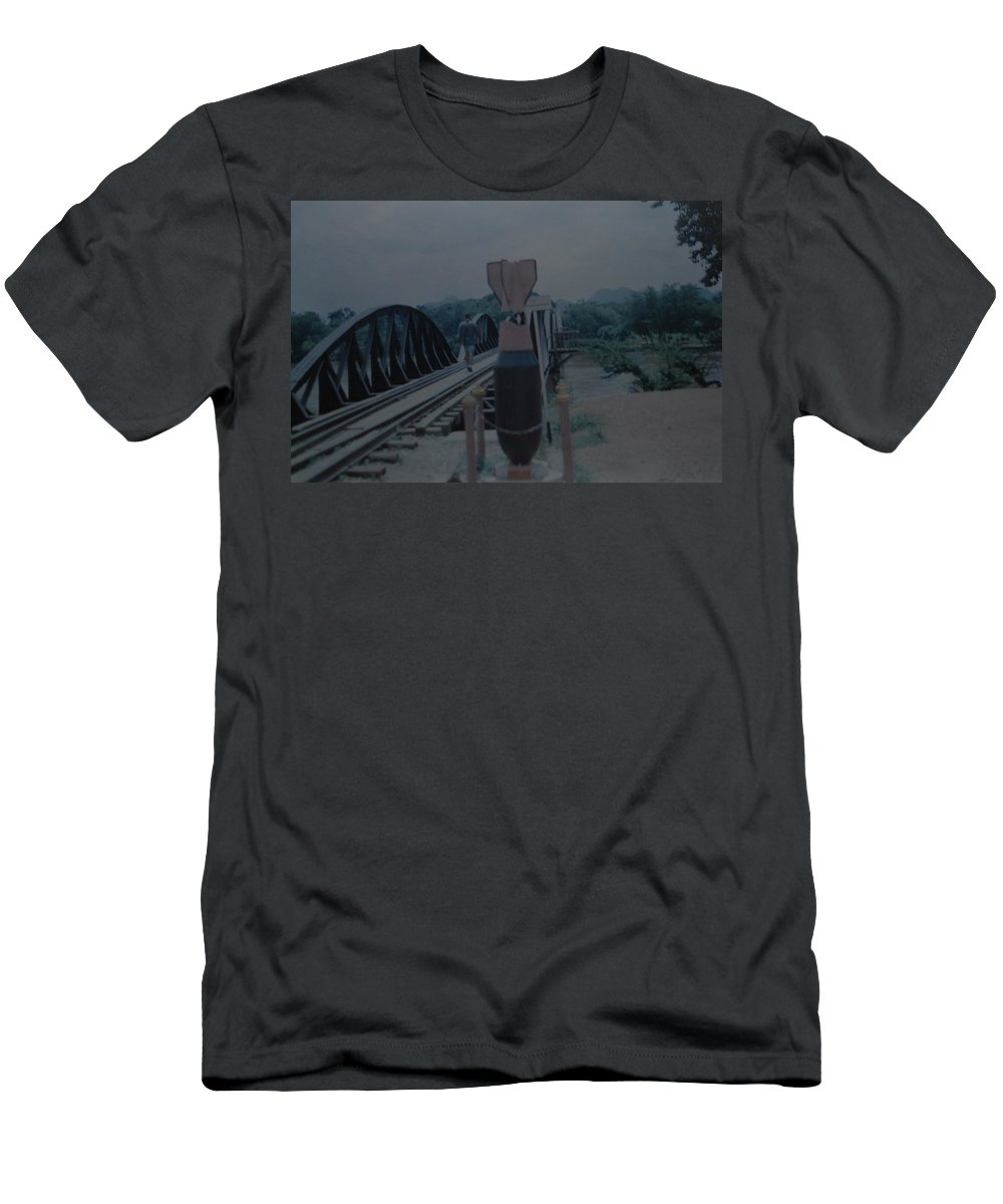 Bridge T-Shirt featuring the photograph The Bridge On The River Kwai by Rob Hans