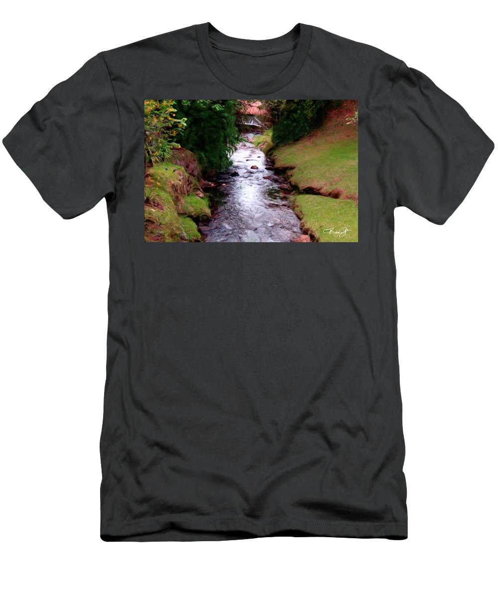 Medellin Men's T-Shirt (Athletic Fit) featuring the photograph The Eternal Spring by Francisco Colon