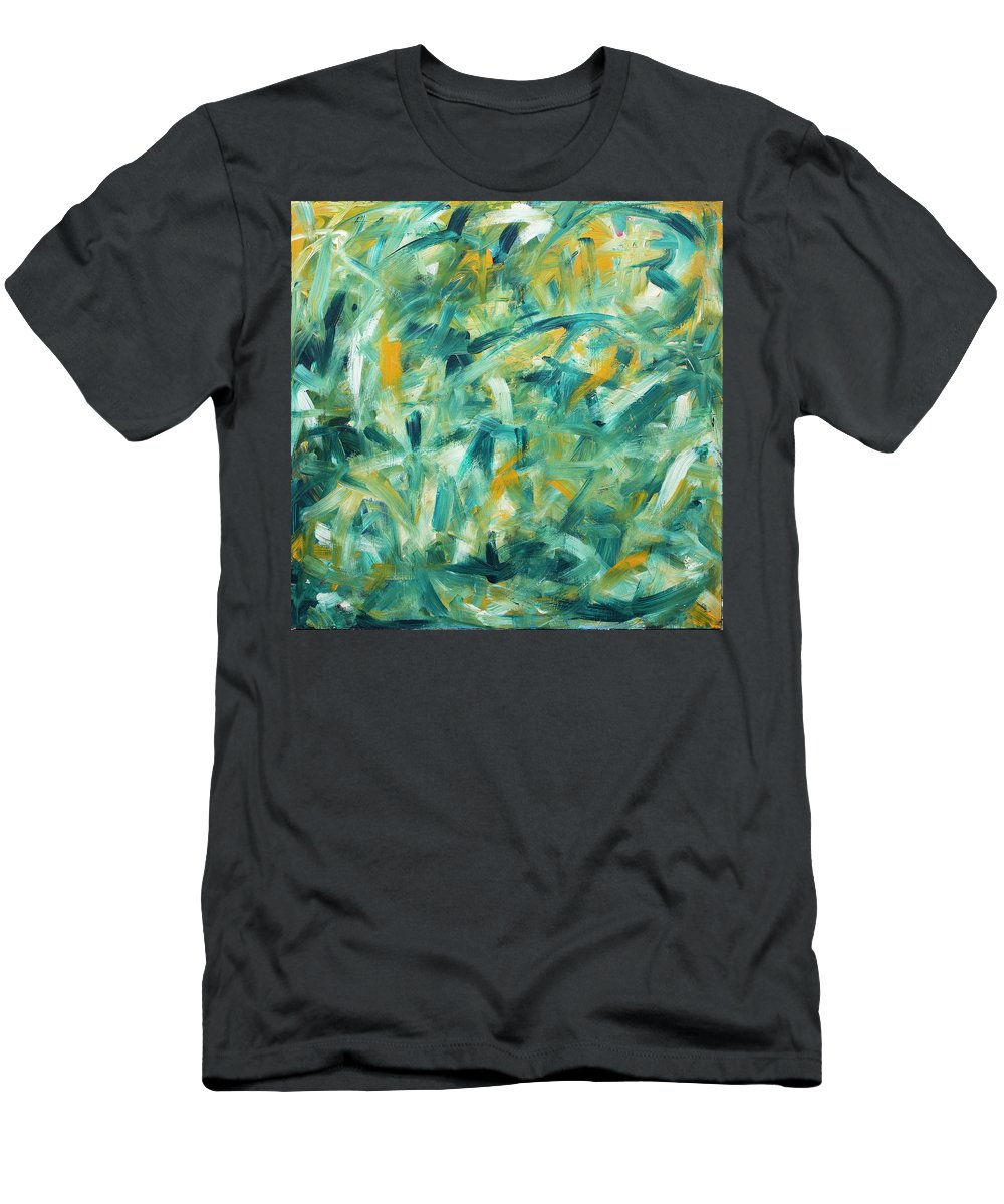2003 Men's T-Shirt (Athletic Fit) featuring the painting The Four Seasons - Summer by Will Felix