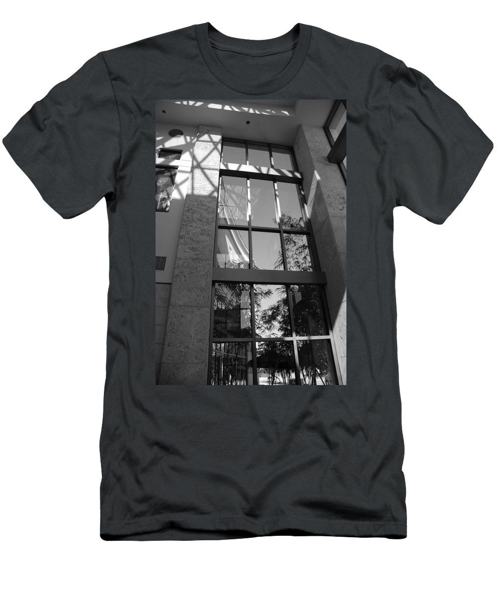 Sun Men's T-Shirt (Athletic Fit) featuring the photograph The Glass Window by Rob Hans