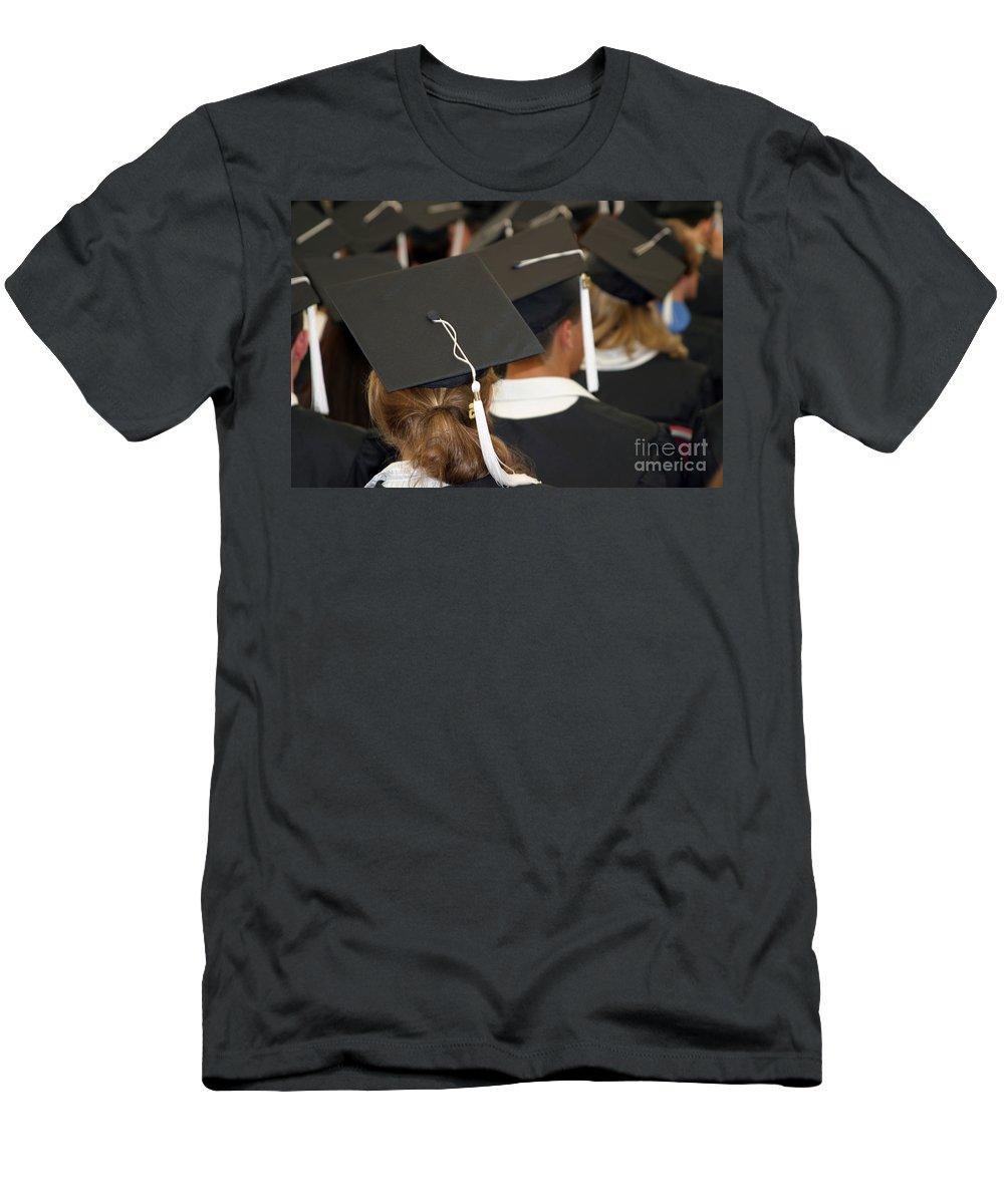 Graduate Men's T-Shirt (Athletic Fit) featuring the photograph The Graduates by Madeline Ellis