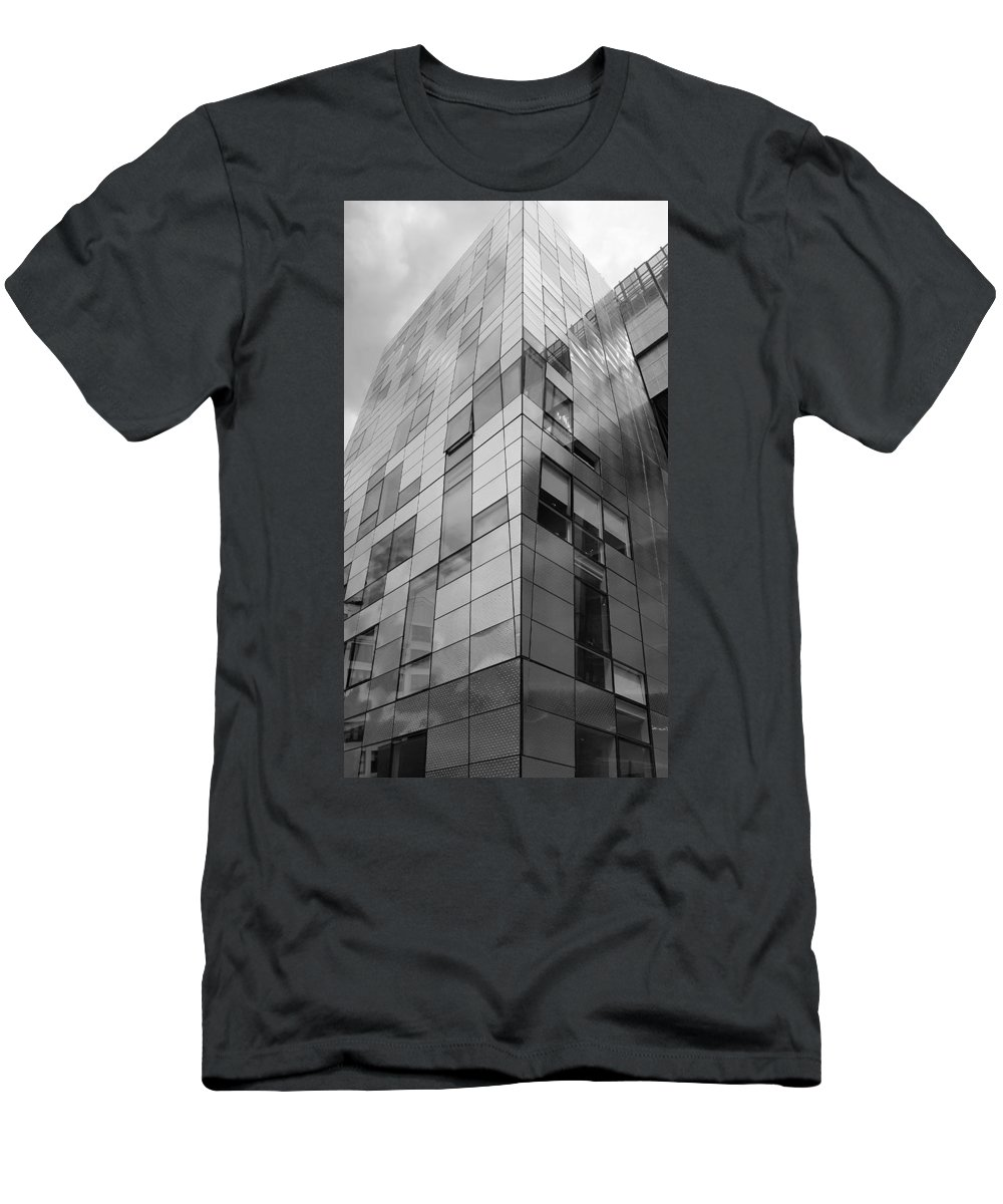 The High Line Men's T-Shirt (Athletic Fit) featuring the photograph The High Line 152 by Rob Hans