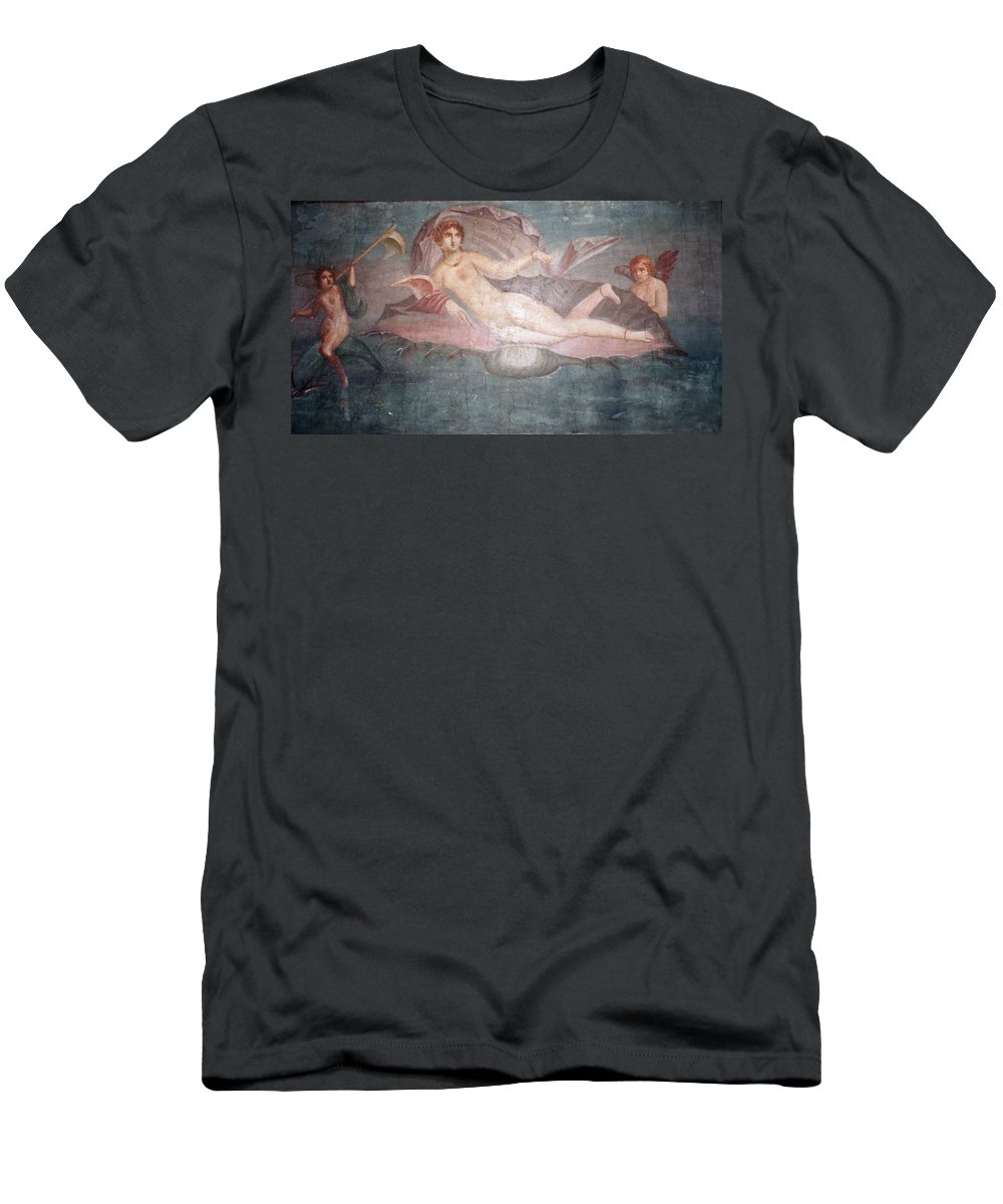 House Men's T-Shirt (Athletic Fit) featuring the photograph The House Of Venus by Marna Edwards Flavell