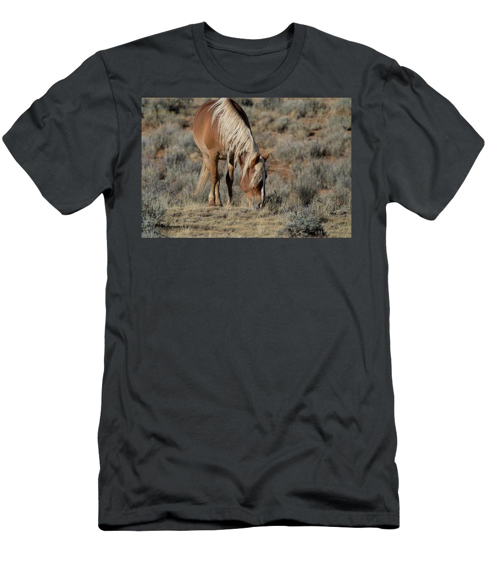 Cody T-Shirt featuring the photograph The Joy of Nature by Frank Madia