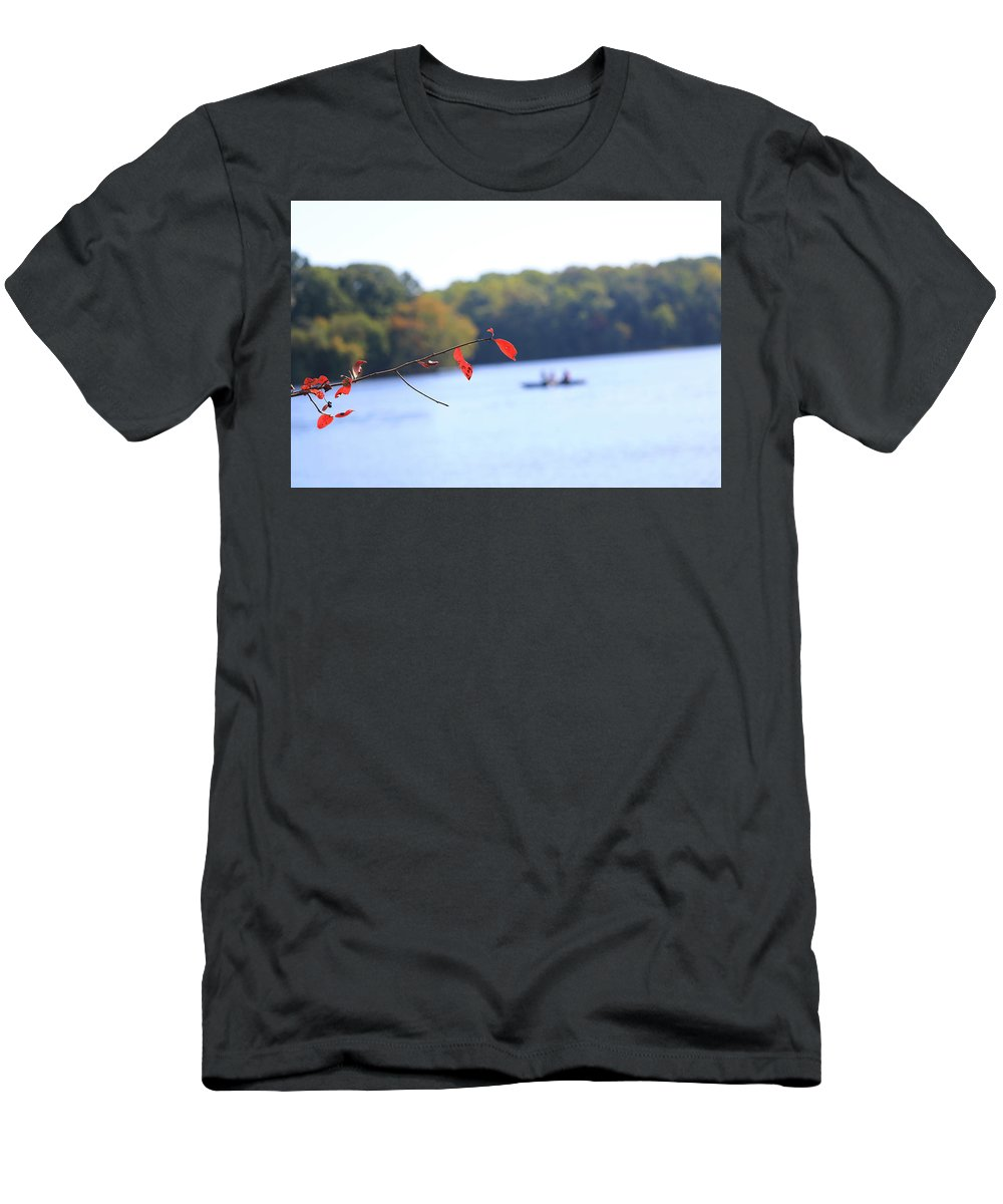 T-Shirt featuring the photograph The Lake by Tony Umana