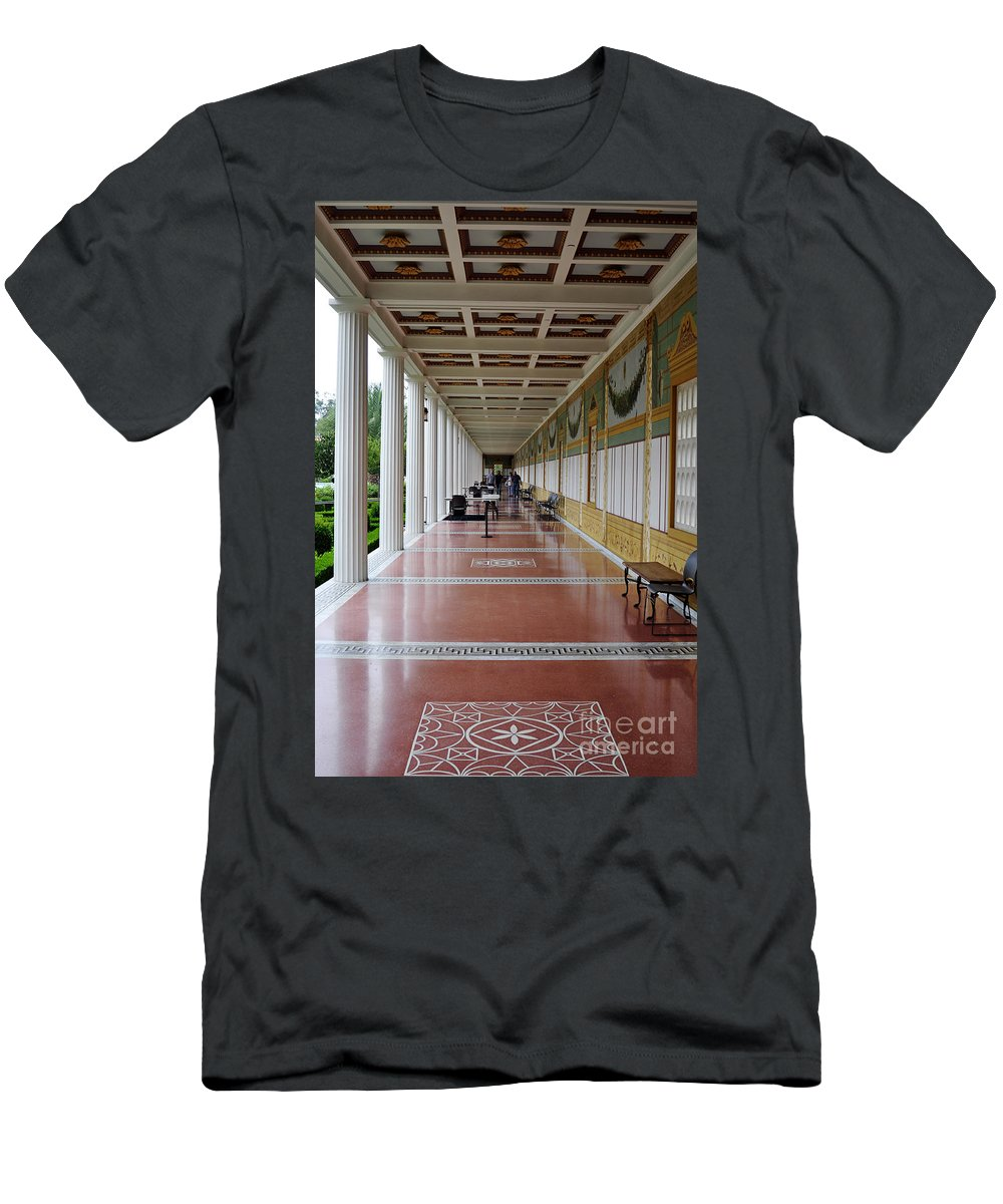 Clay Men's T-Shirt (Athletic Fit) featuring the photograph The Long Walk by Clayton Bruster