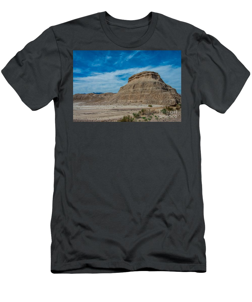 Mesa Men's T-Shirt (Athletic Fit) featuring the photograph The Mesa by Stephen Whalen