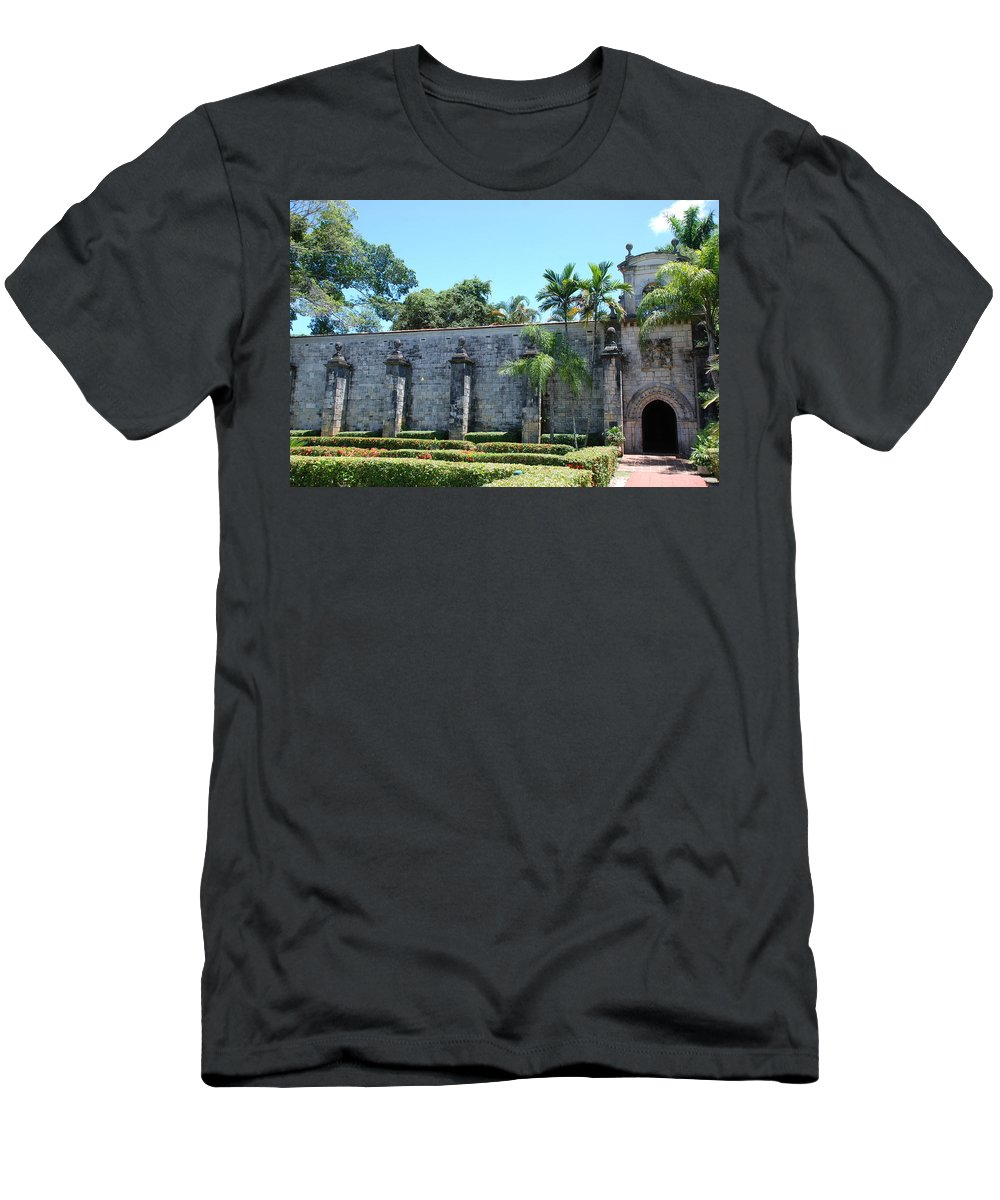 Florida Men's T-Shirt (Athletic Fit) featuring the photograph The Miami Monastery by Rob Hans