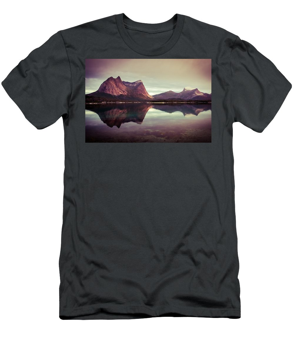Europe T-Shirt featuring the photograph The Mirroring by Radek Spanninger