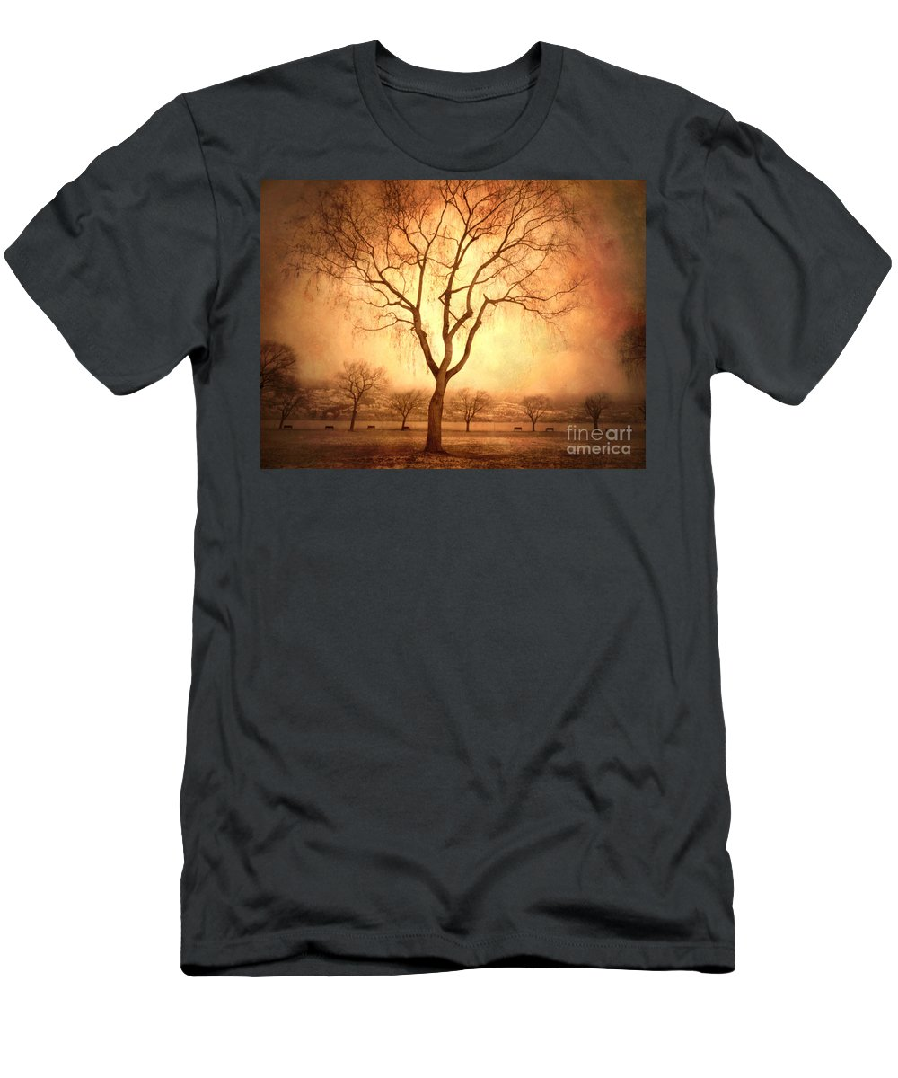 Trees Men's T-Shirt (Athletic Fit) featuring the photograph The Mother Tree by Tara Turner