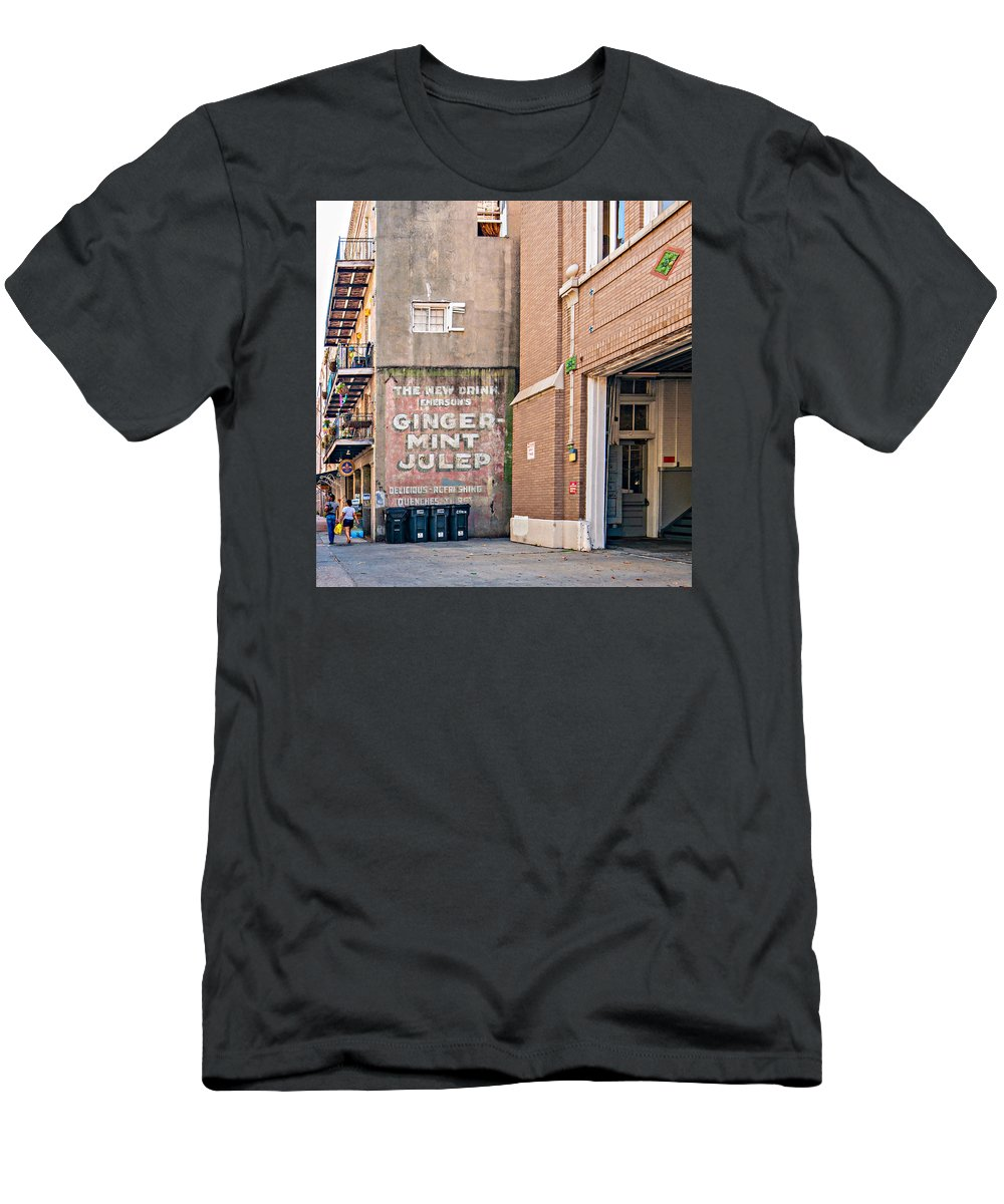 Nola Men's T-Shirt (Athletic Fit) featuring the photograph The New Drink by Steve Harrington