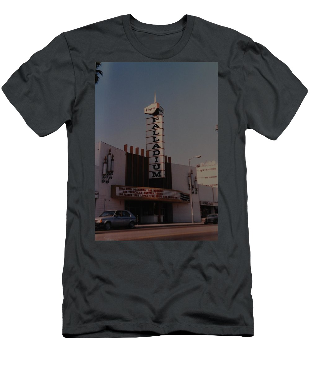The Palladium T-Shirt featuring the photograph The Palladium by Rob Hans