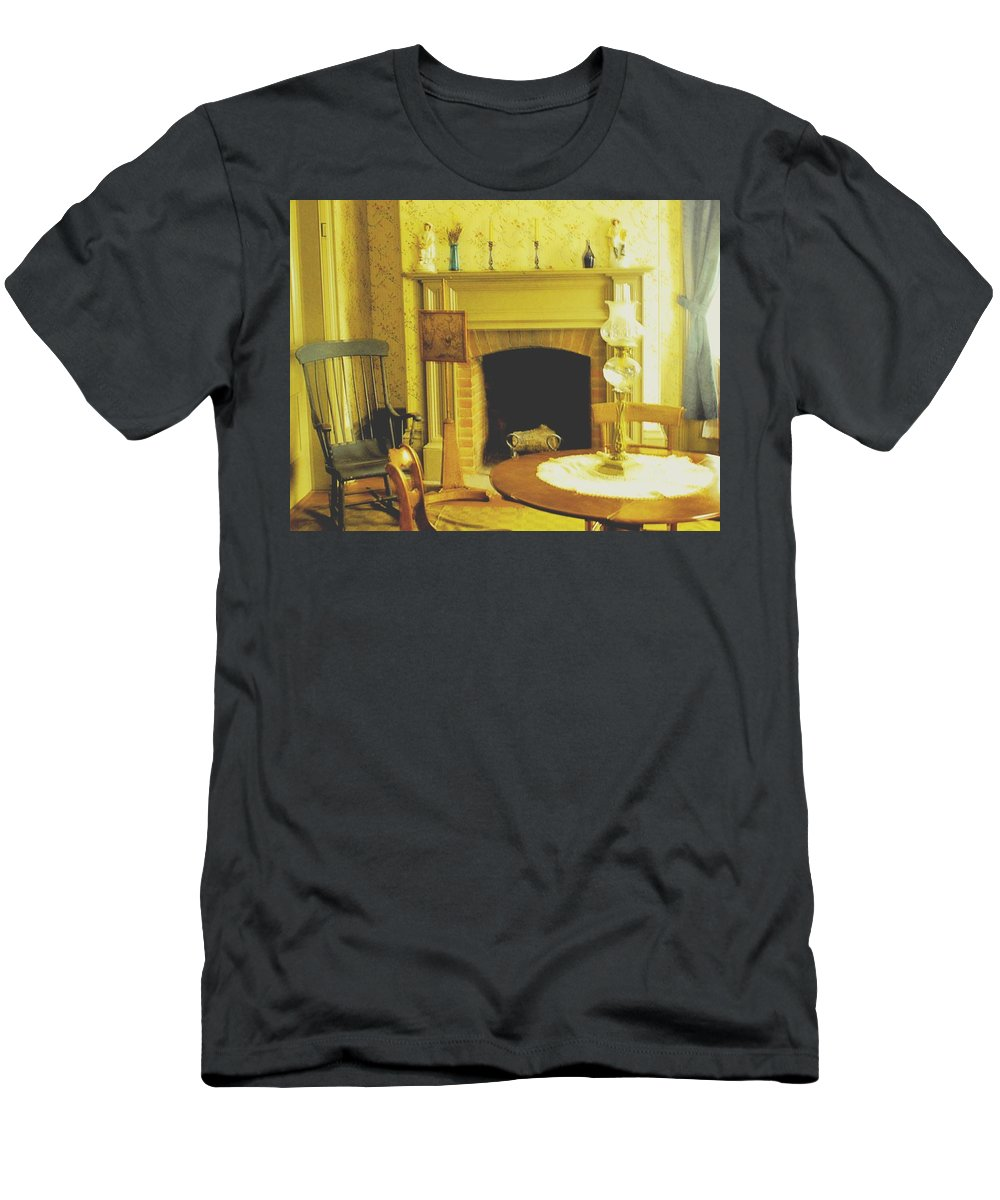 Pioneer Men's T-Shirt (Athletic Fit) featuring the photograph The Parlour by Ian MacDonald