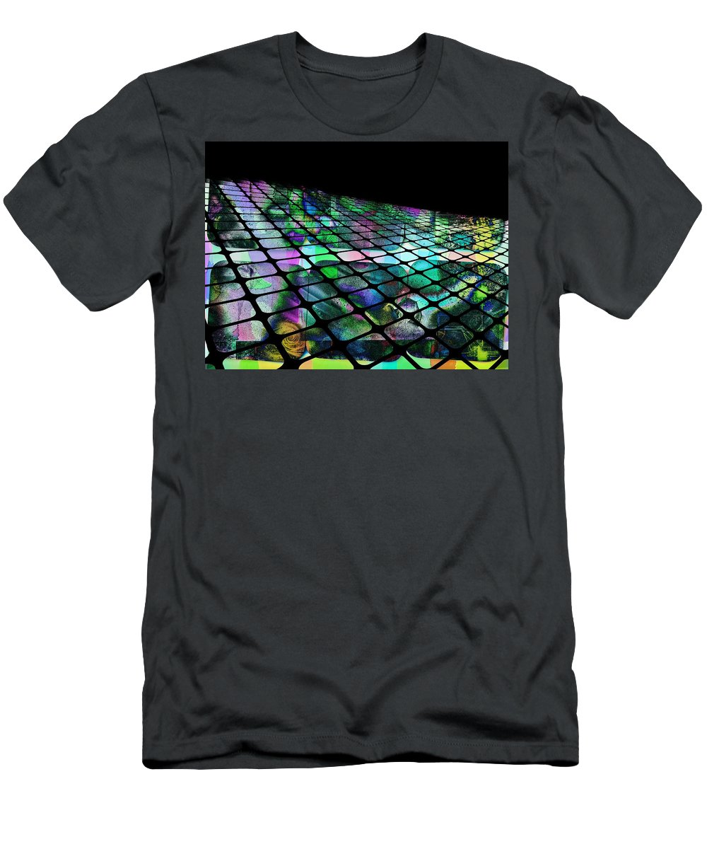 Fine Art Men's T-Shirt (Athletic Fit) featuring the photograph The Surface Of Color by Contemporary Art