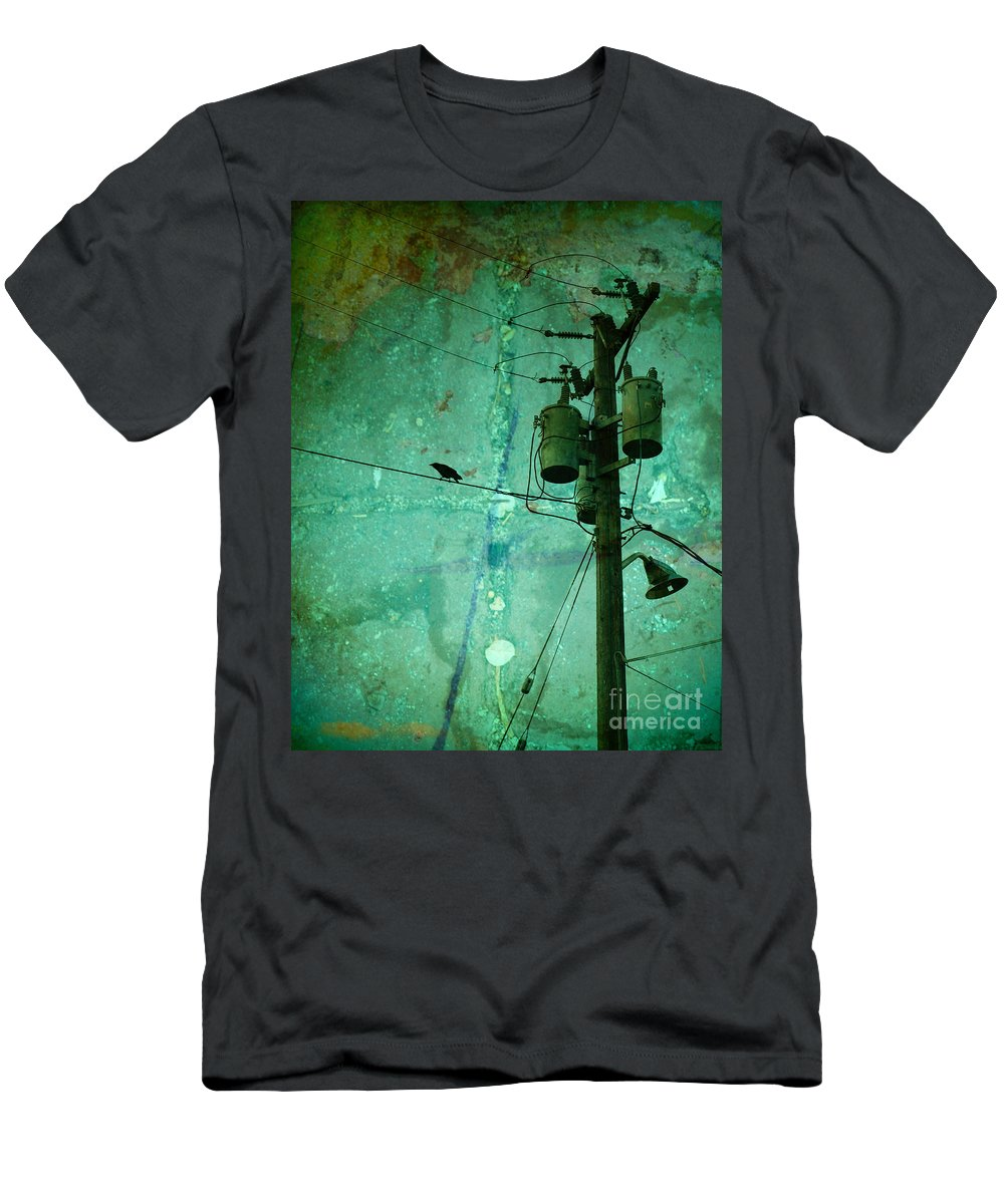 Urban T-Shirt featuring the photograph The Urban Crow by Tara Turner