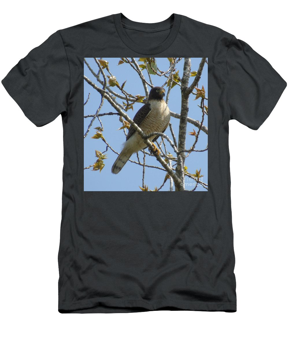 Birds Men's T-Shirt (Athletic Fit) featuring the photograph The View From Above V by Silvana Miroslava Albano