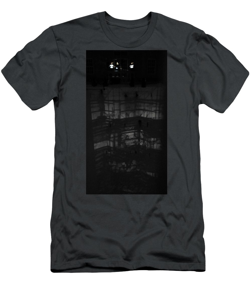 Theater Men's T-Shirt (Athletic Fit) featuring the photograph Theater by Caterina Kuo