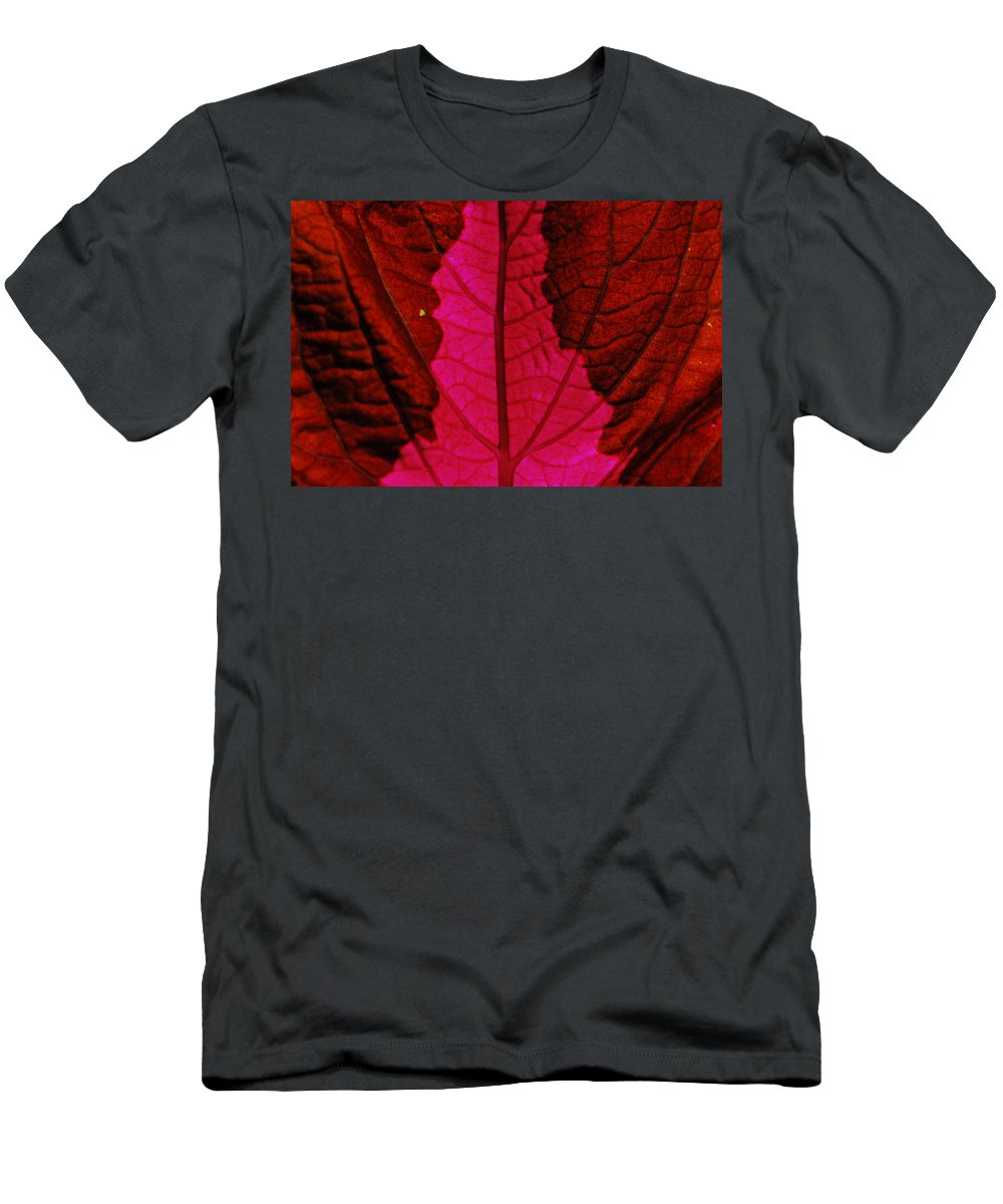 Plant Men's T-Shirt (Athletic Fit) featuring the photograph There Will Be Blood by Donna Blackhall