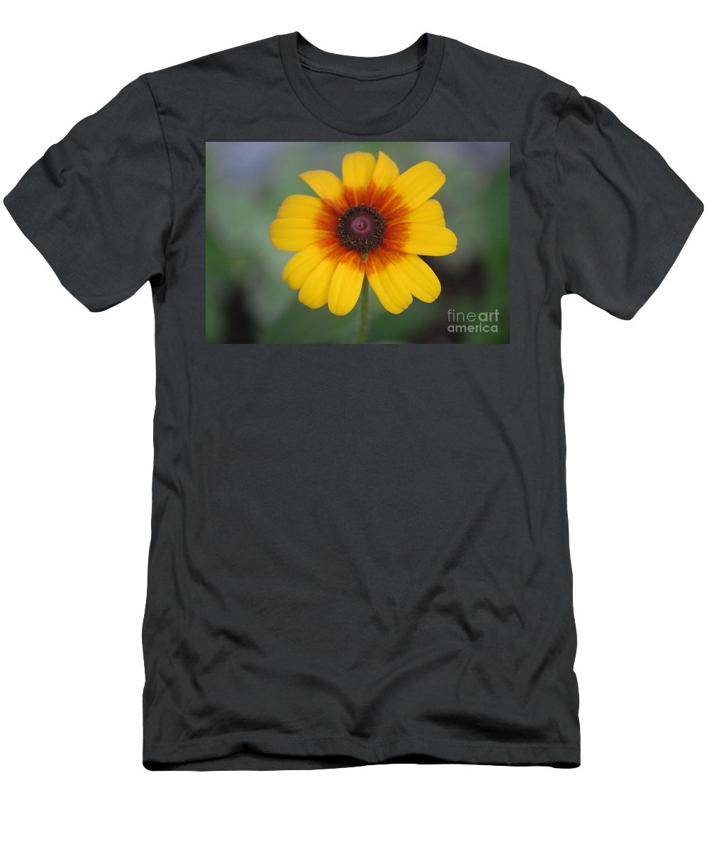 Landscape Men's T-Shirt (Athletic Fit) featuring the photograph They Call Me Mellow Yellow. by David Lane