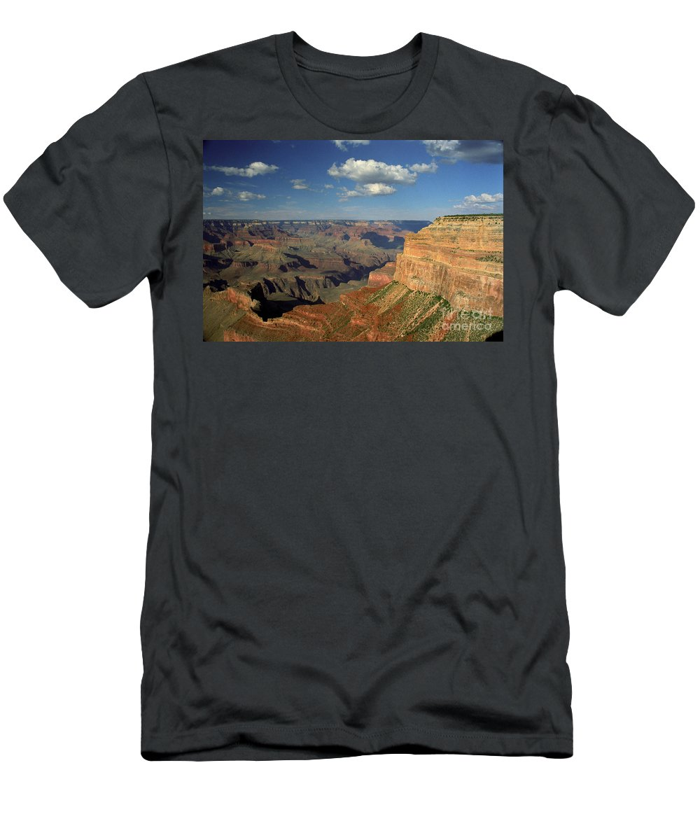 Grand Canyon Men's T-Shirt (Athletic Fit) featuring the photograph This Is My Father's World by Kathy McClure