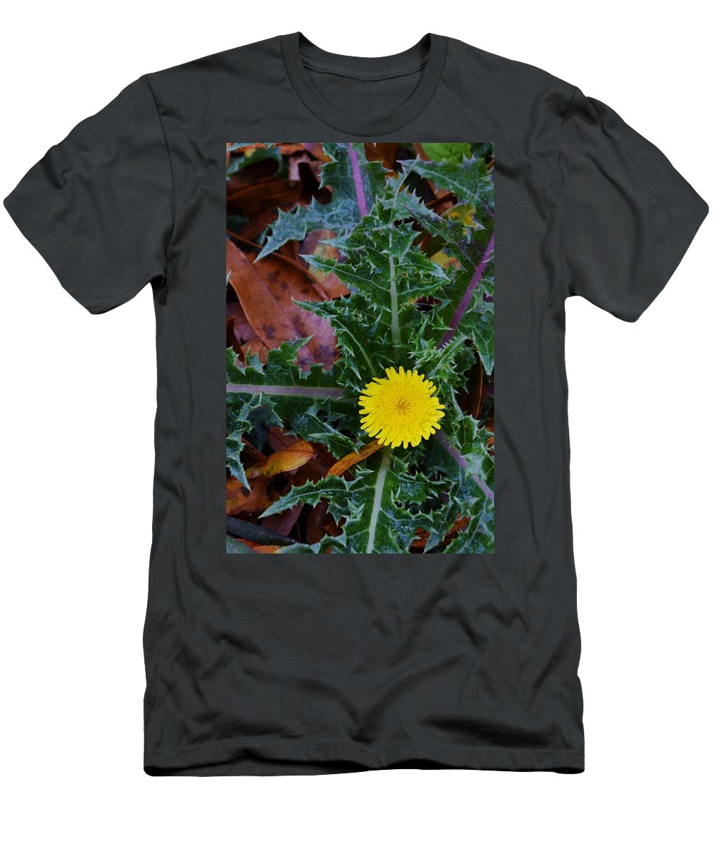 Thistle This Men's T-Shirt (Athletic Fit) featuring the photograph Thistle This by Warren Thompson