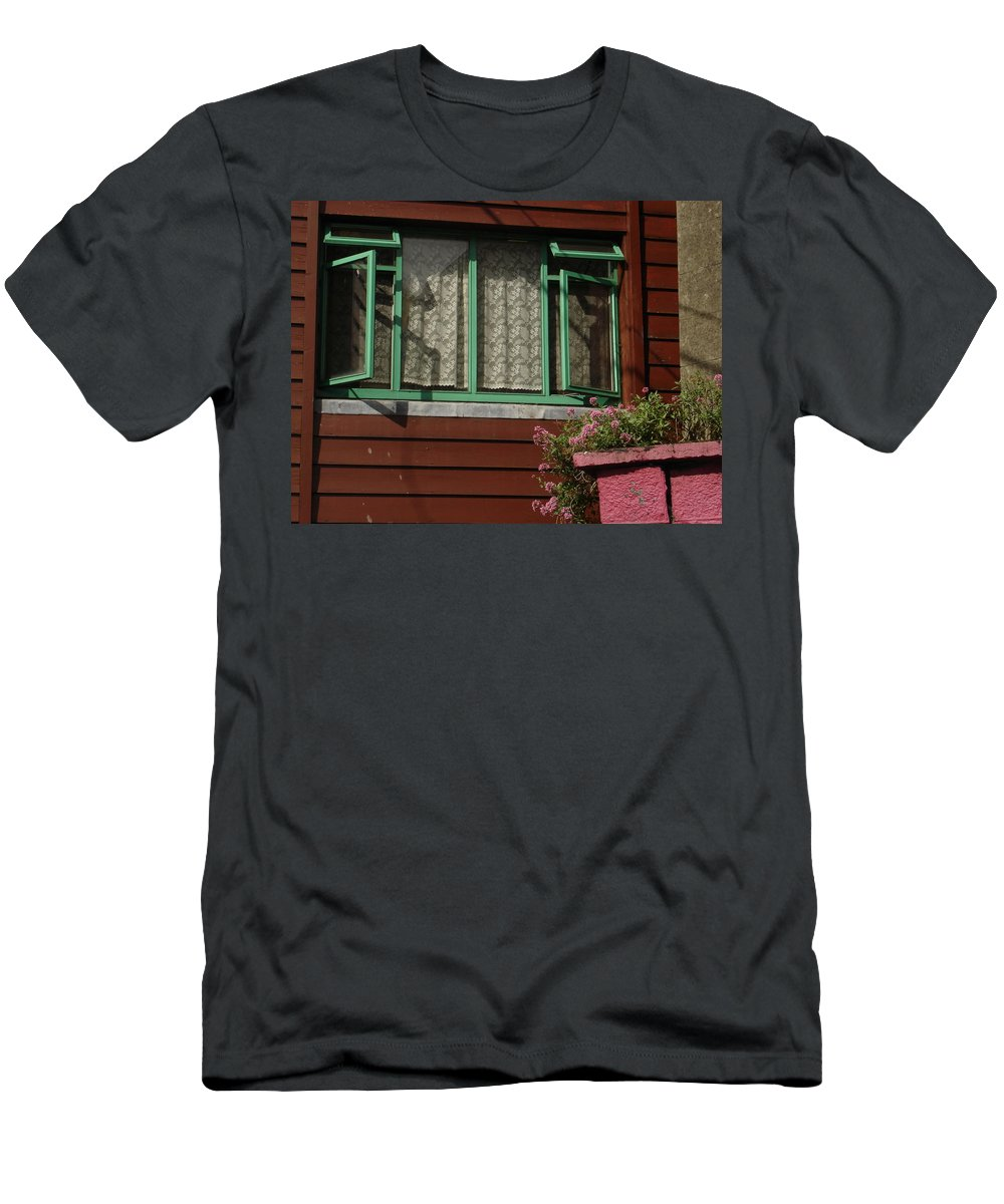 Thomastown T-Shirt featuring the photograph Thomastown by Kelly Mezzapelle