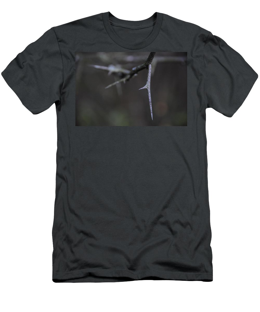 Thorn Men's T-Shirt (Athletic Fit) featuring the photograph Thorn by David Arment