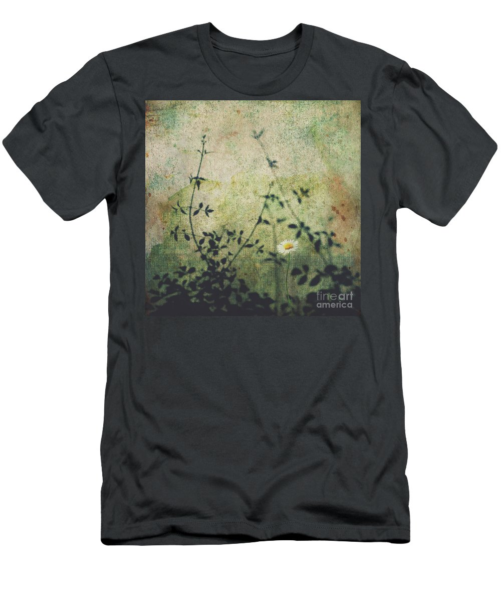 Daisy Men's T-Shirt (Athletic Fit) featuring the photograph Thrive by Karen Black