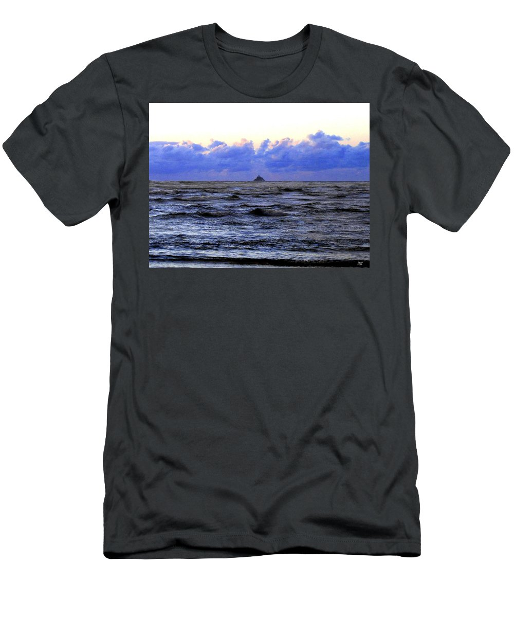 Lighthouse Men's T-Shirt (Athletic Fit) featuring the photograph Tillamook Rock Lighthouse by Will Borden