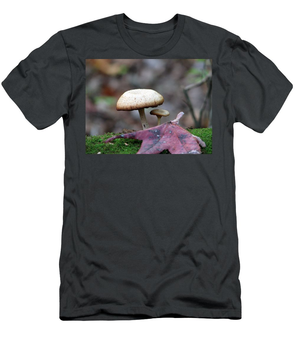 Toad Stool T-Shirt featuring the photograph Toad Stool IV by Creative Solutions RipdNTorn