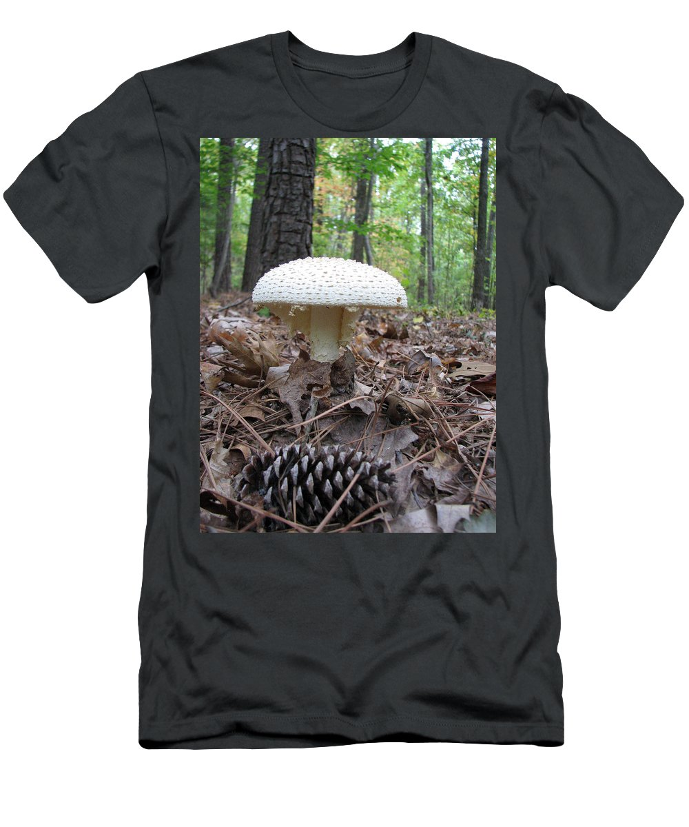 Mushroom T-Shirt featuring the photograph Toad Stool V by Creative Solutions RipdNTorn
