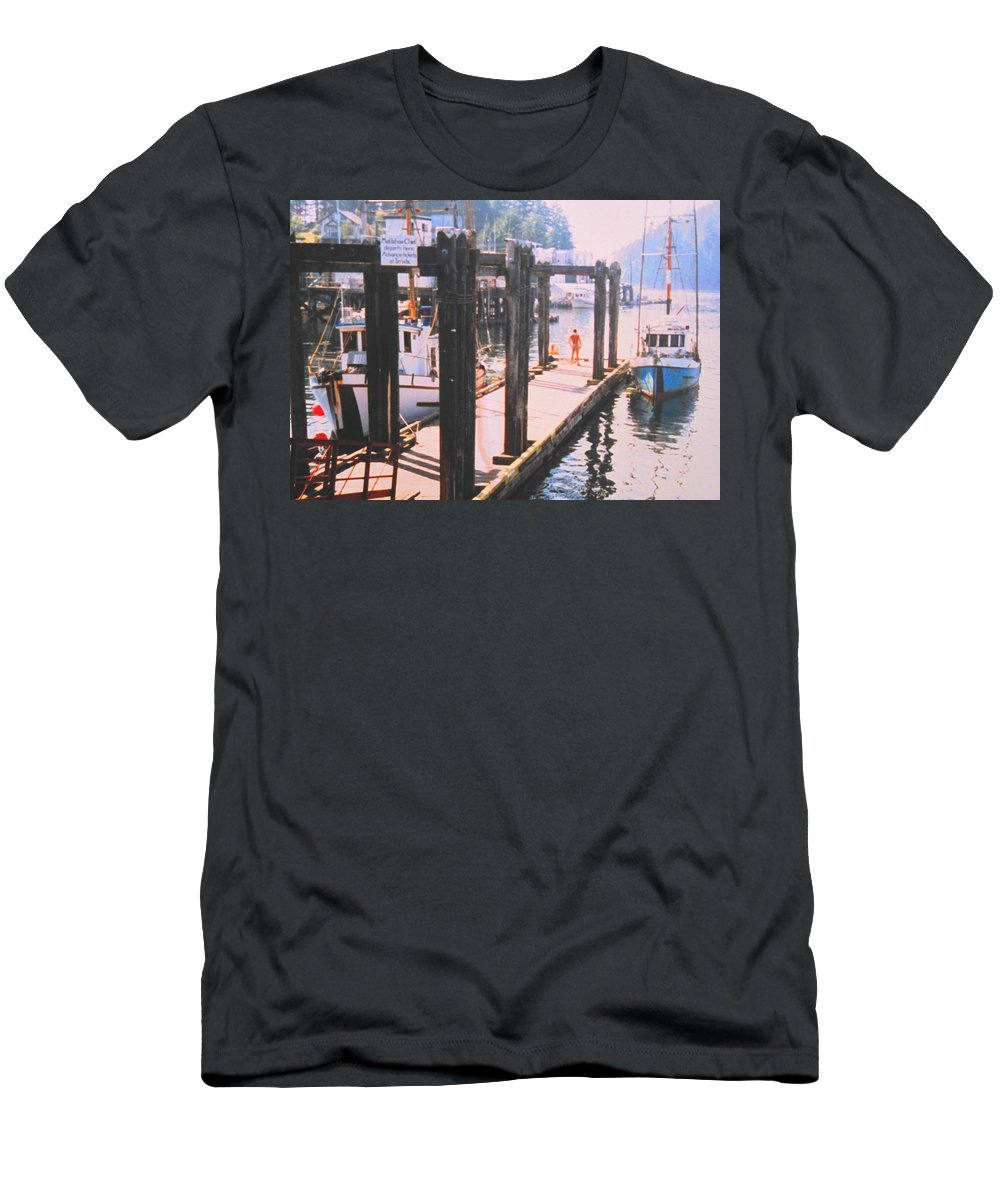 Tofino Men's T-Shirt (Athletic Fit) featuring the photograph Tofino by Ian MacDonald